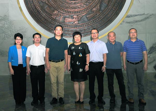 柳州市城中區代表團考察永恒投資